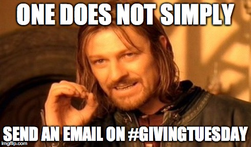 Cross-Channel Promotion and #GivingTuesday
